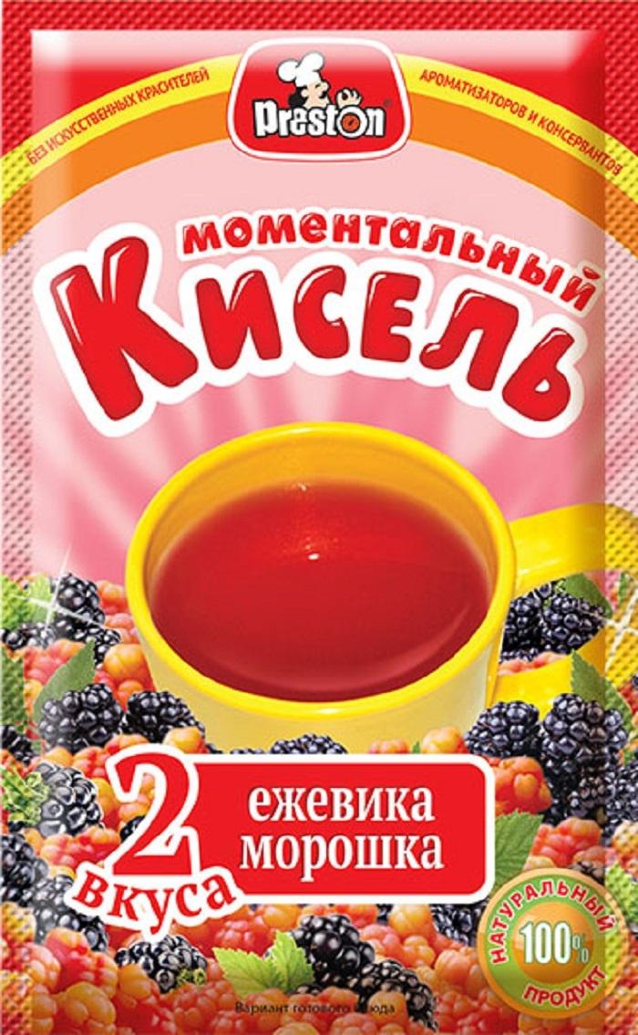 Pr.Preston Кисель б/пр ежевика+ морошка 30гр/15Шт  #1