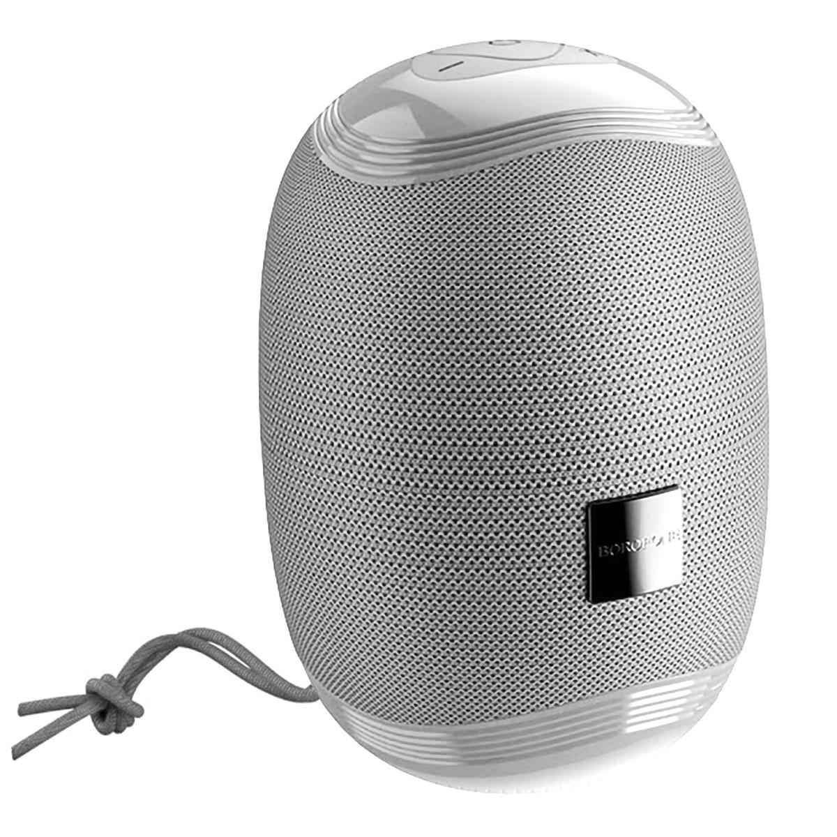 Колонка портативная Borofone BR6, 5ВТ, TWS (Bluetooth/microSD/USB/AUX/FM), серый  #1