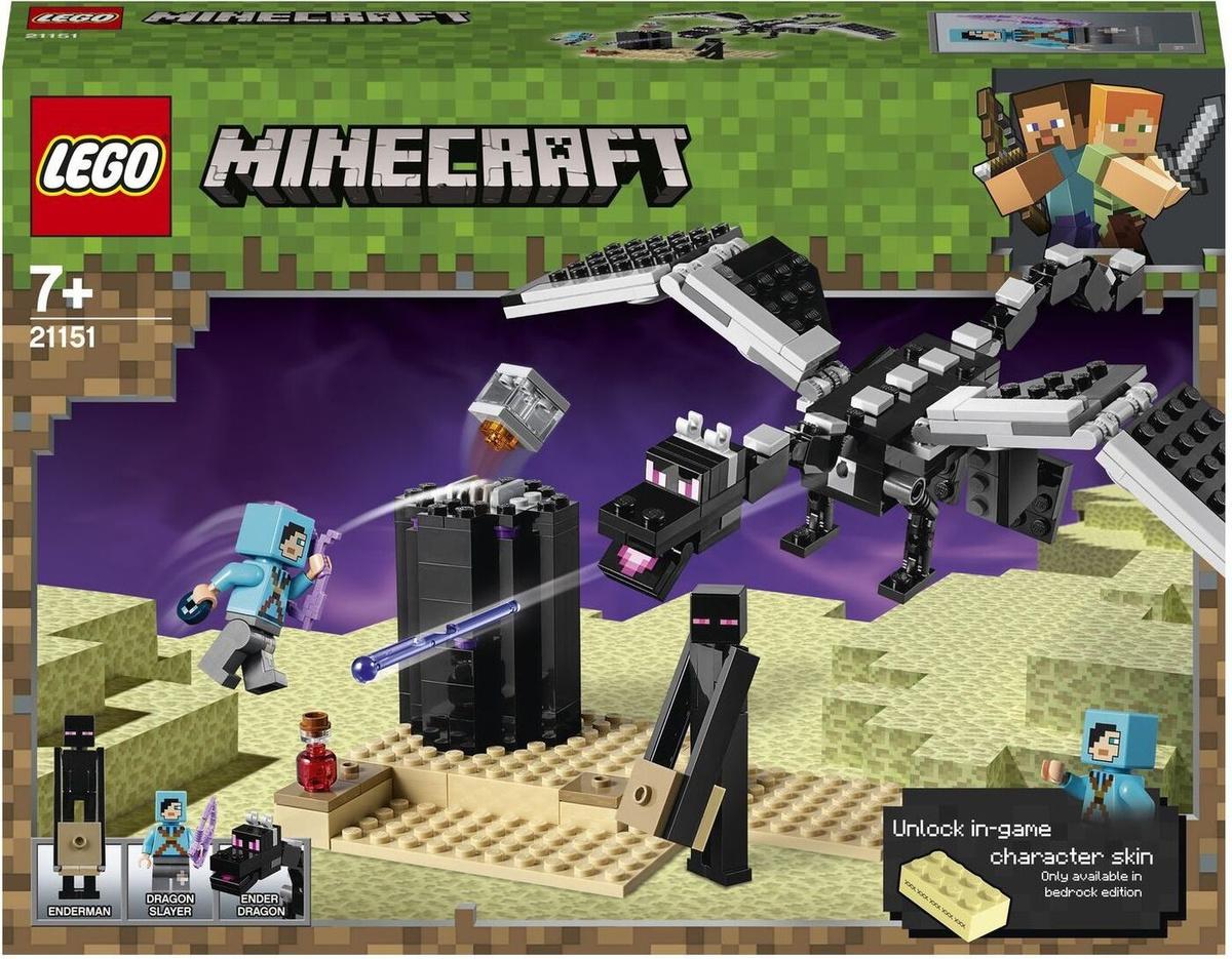 Конструктор LEGO Minecraft 21151 Последняя битва #1
