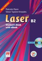 Laser: B2: Student's Book (+ CD-ROM)   Манн Малколм, Тейлор-Ноулз Стив. Средняя школа