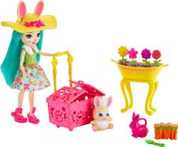 Игровой набор с куклой Enchantimals Банни Блумс, GJX32_GJX33