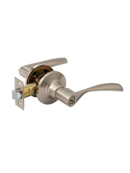Ручка-защёлка дверная FERRE A8023 BK SN (сатин, поворотник-заглушка). Популярные товары