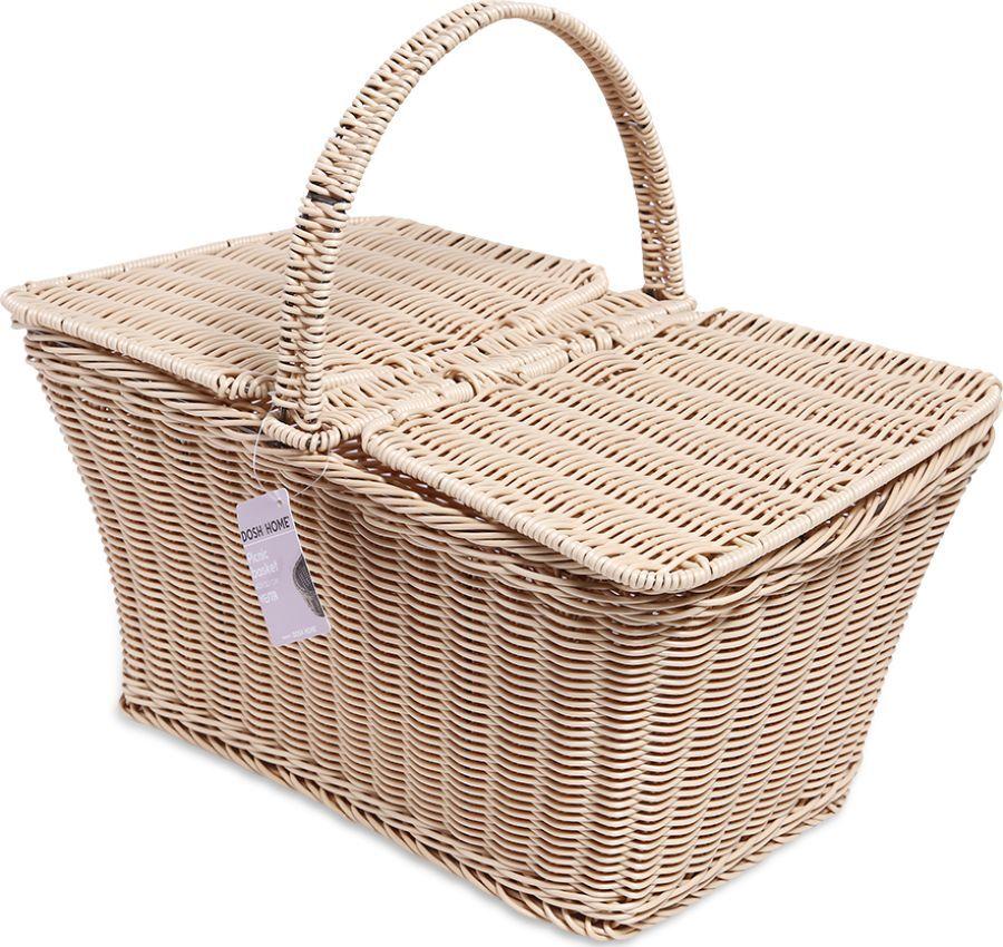 Корзина для пикника Dosh|Home Vesta, 400760, 42 х 30 см корзина для пикника dd style цвет белый розовый 48 х 35 х 33 см