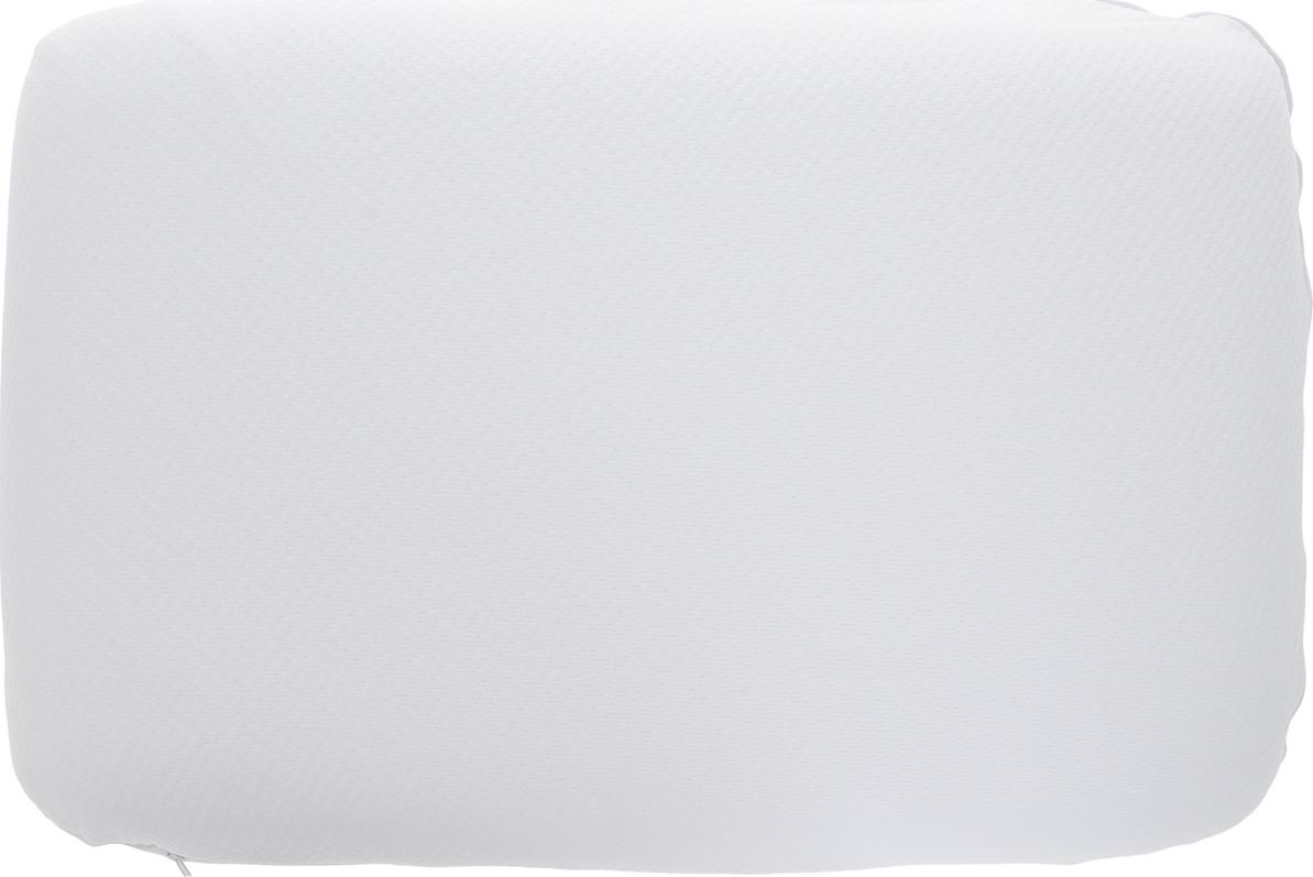 Подушка ортопедическая Василиса, 186505, белый, наполнитель: memory foam, 59 х 37,5 х 8,8 см подушки homedics ортопедическая подушка memory foam luxury box