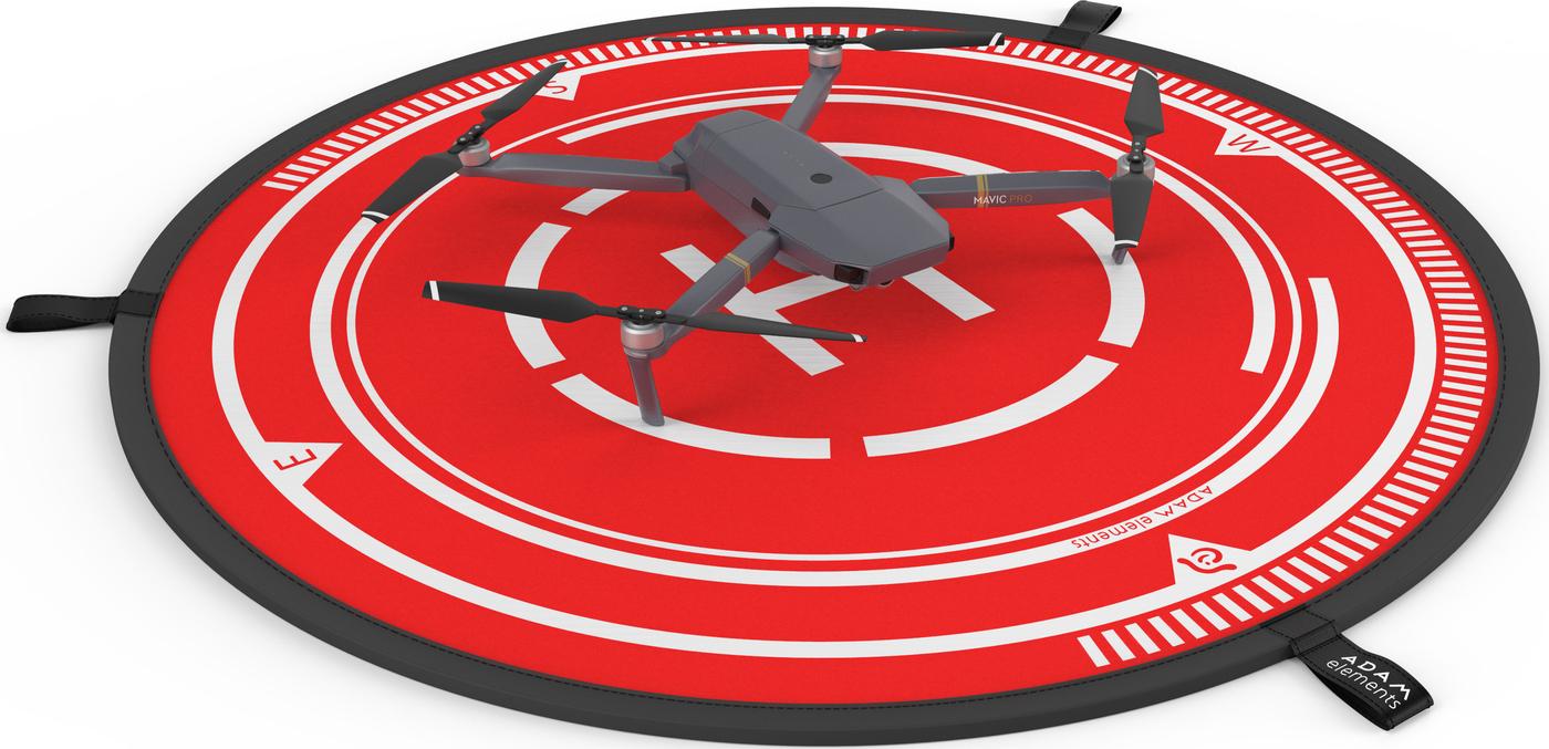 Площадка посадочная 19см ADAM elements LDPD для дронов, красная Adam Elements