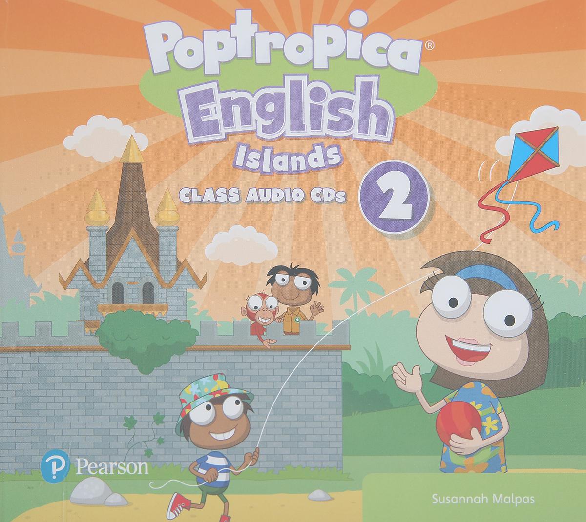 лучшая цена Poptropica English Islands 2 Class CD