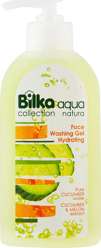 Гель для умывания BILKA Увлажняющий гель для умывания лица Aqua Natura, 200 мл Bilka