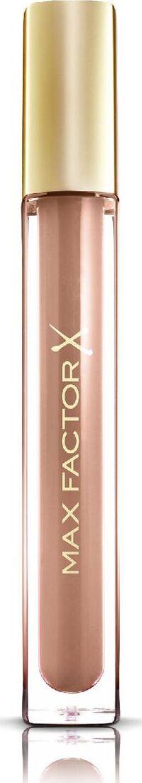 Max Factor Блеск для губ Colour Elixir, тон №80 (Lustrous Sand), 3,4 мл эмульсия alterna lengthening hair and scalp elixir 50 мл