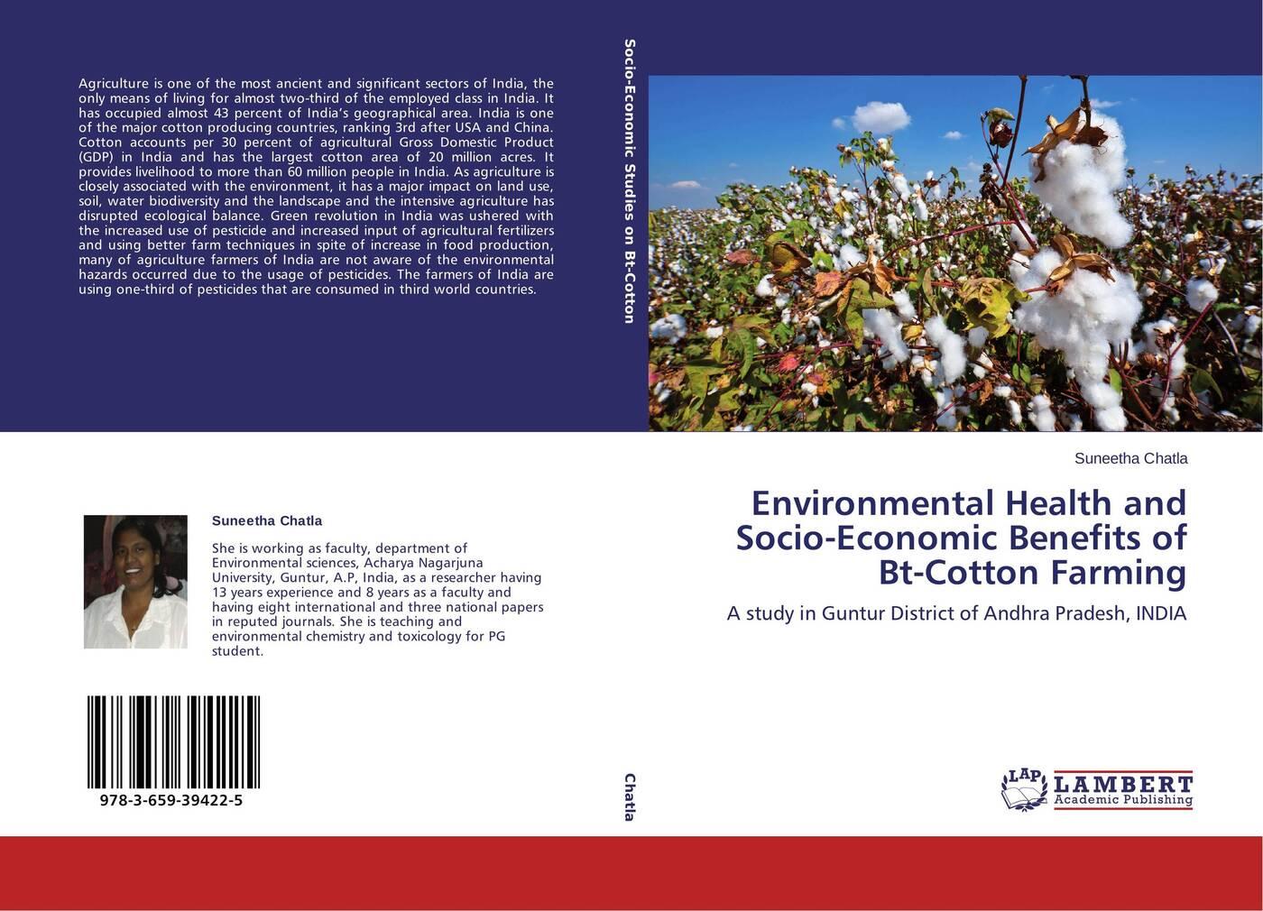 цены на Suneetha Chatla Environmental Health and Socio-Economic Benefits of Bt-Cotton Farming  в интернет-магазинах