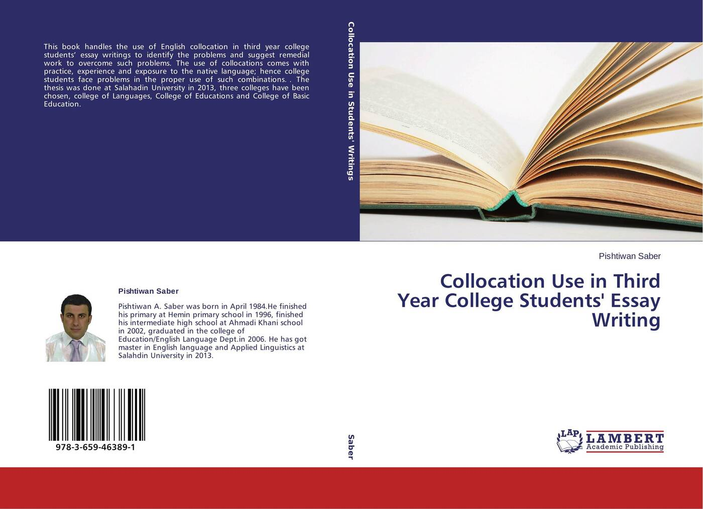 Pishtiwan Saber Collocation Use in Third Year College Students Essay Writing