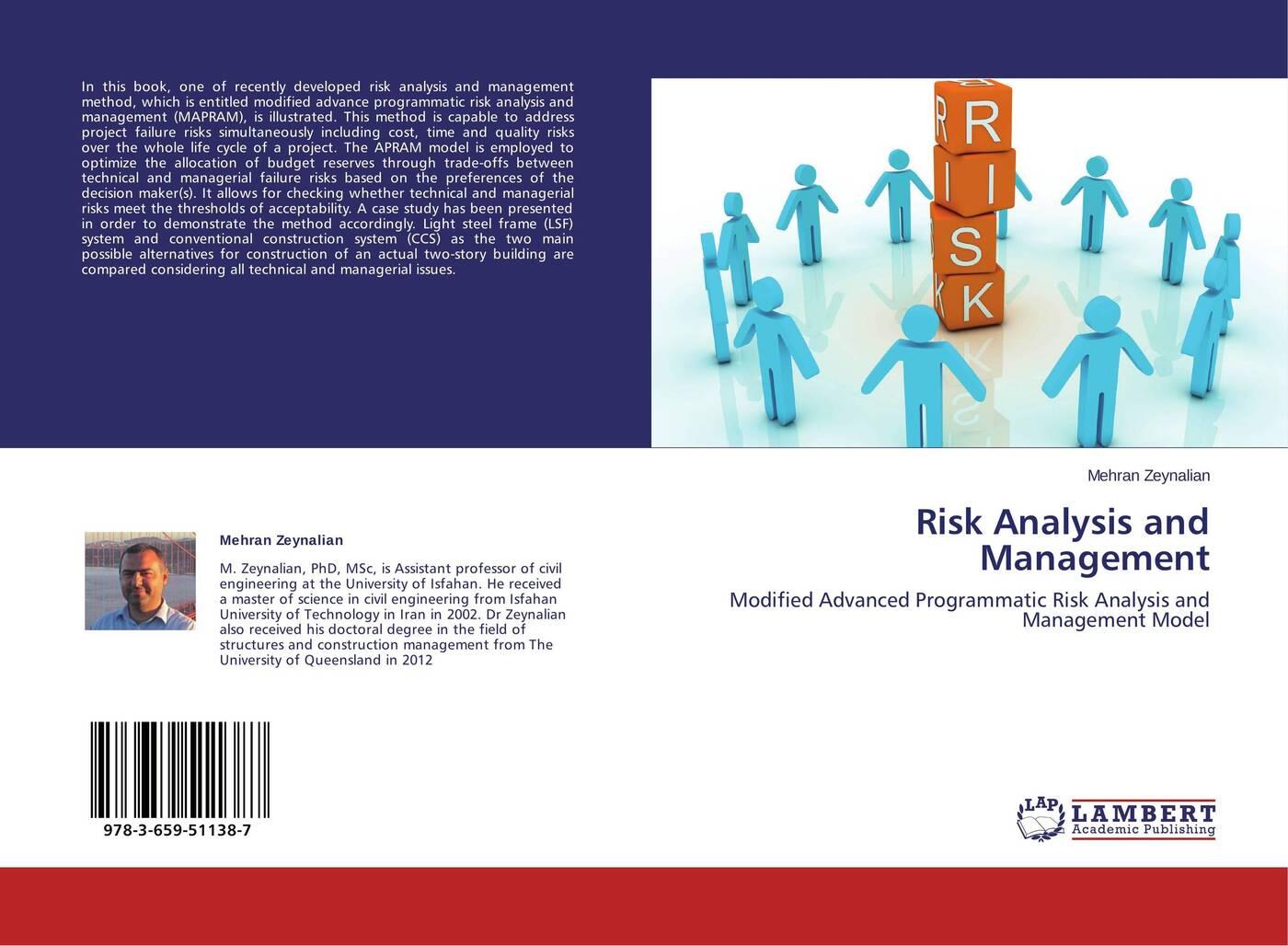 Mehran Zeynalian Risk Analysis and Management