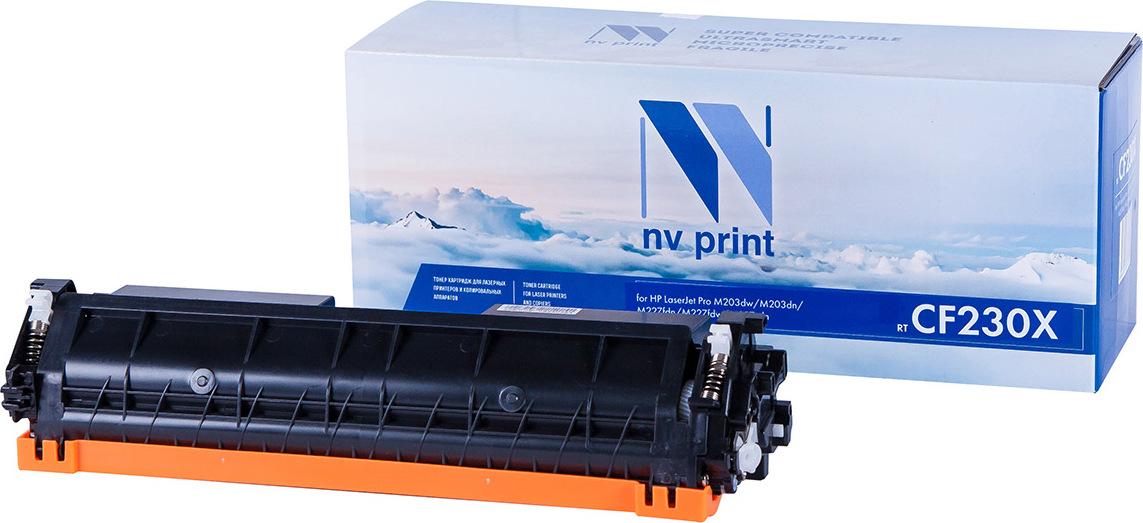 Тонер-картридж NV Print CF230X, черный, для лазерного принтера