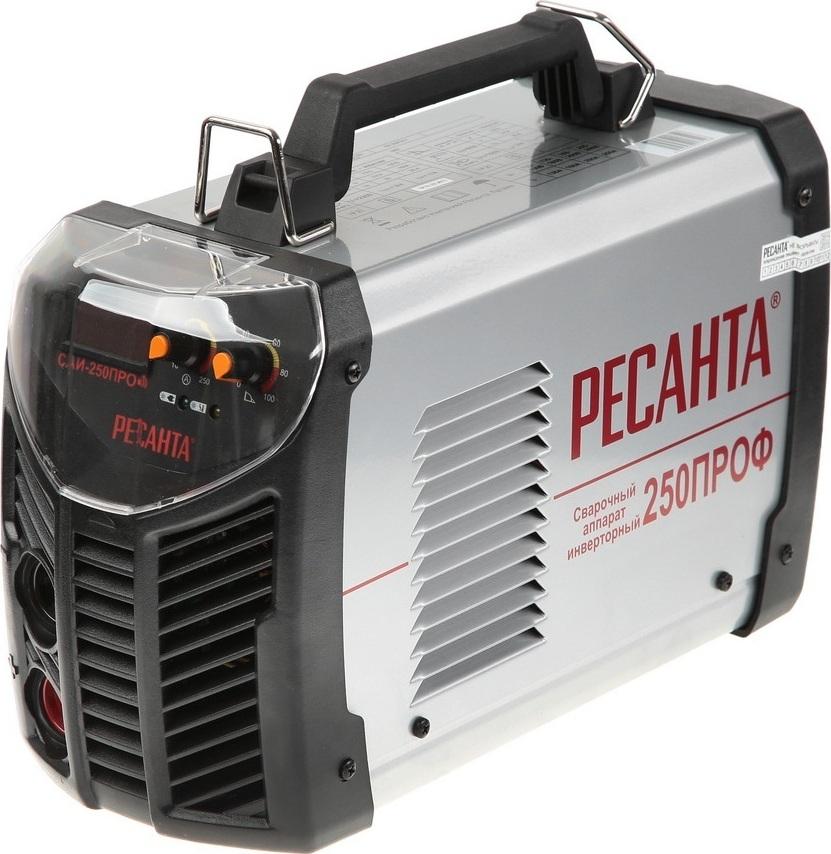 Сварочный аппарат инверторный САИ 250ПРОФ Ресанта сварочный аппарат инверторный ресанта саи 250проф