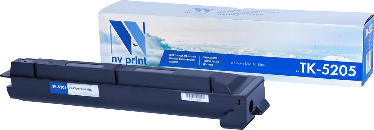 Тонер-картридж NV Print TK-520, голубой, для лазерного принтера