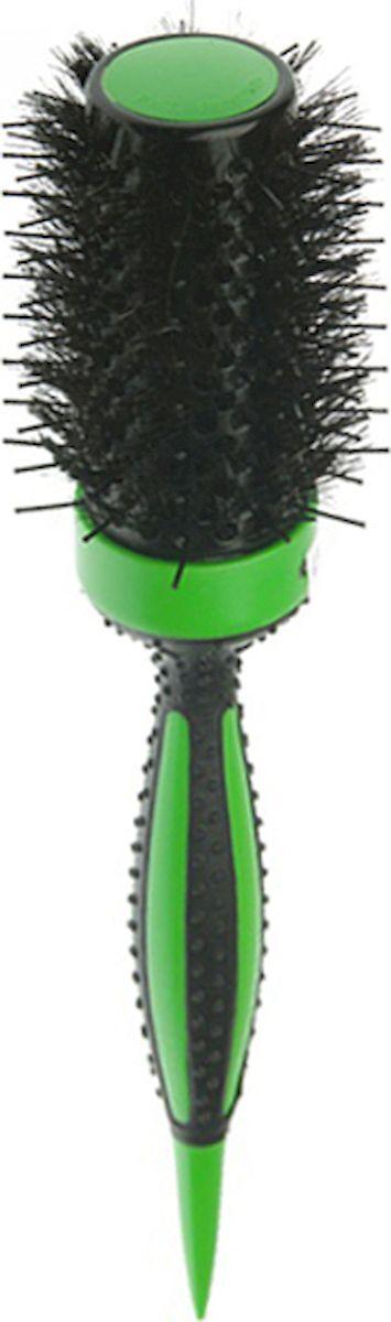 Термобрашинг DEWAL серия  ELITE, с керамическим покрытием, зеленый, пл.штифт+нат.щетина d49/70мм dewal dewal 510bk