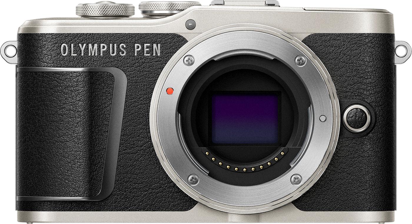 беззеркальный фотоаппарат olympus e-pl9, белый уцененный товар (№2)