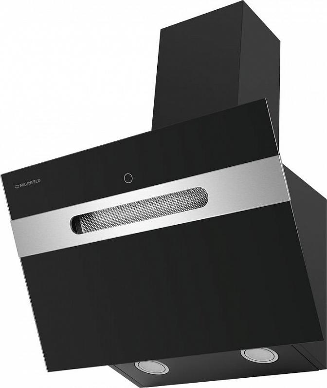 Вытяжка MAUNFELD MOON 60  чёрное стекло Тип: Настенная Цвет: Чёрный Тип управления: Сенсорное Полная...