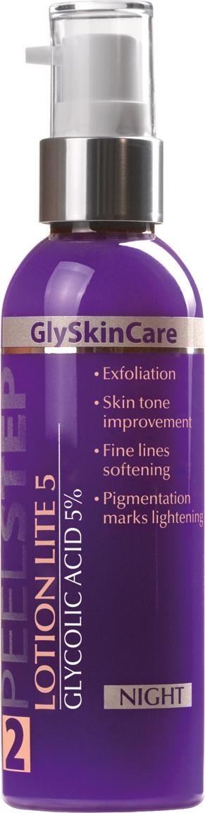 Lotion Lite 5 /Ночная эмульсия-пилинг 5 %  для нормальной и жирной кожи Подходит как средство предпилинговой подготовки и как самостоятельный...
