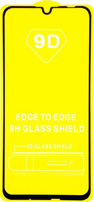 Защитное стекло Huawei Honor 10i (полная проклейка, черная рамка)