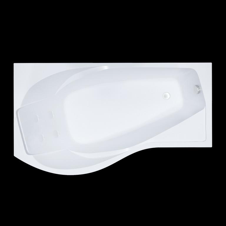 Акриловая ванна Triton Мишель 170x96 асимметричная правая