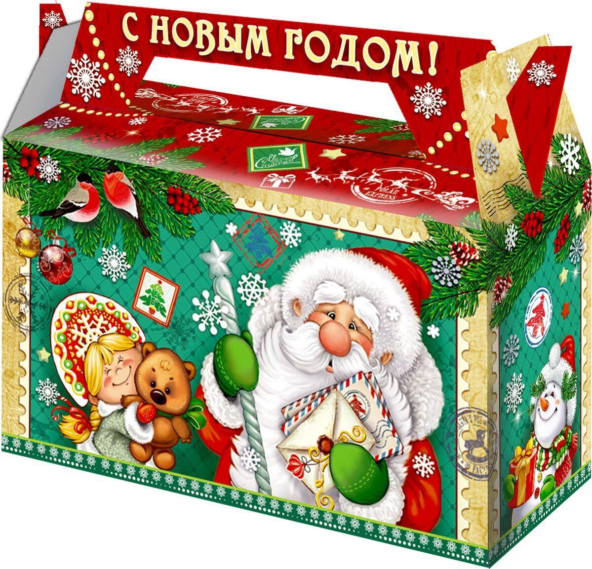 Картинка детский новогодний подарок