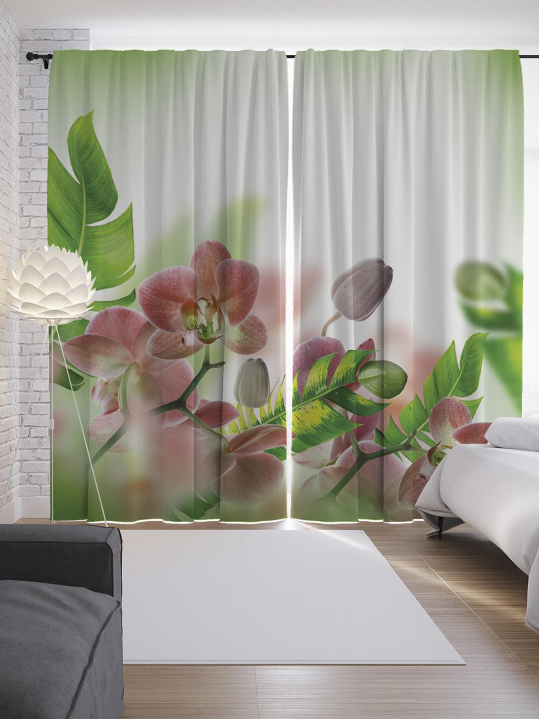 фотопечать цветы на шторах каталог страница картинки открытки