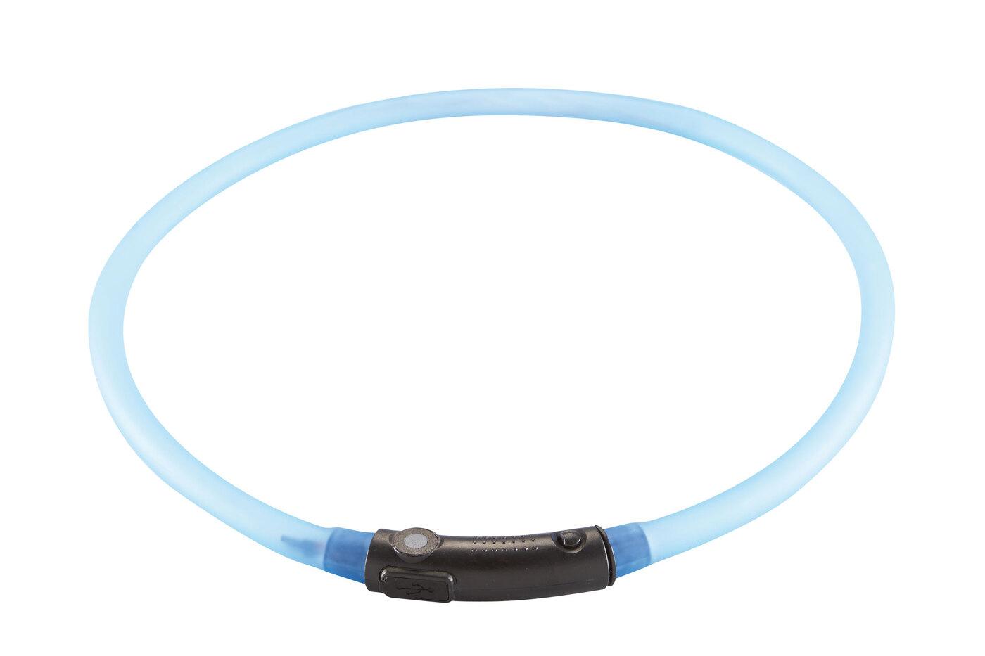 Шнурок Hunter LED Yukon светящийся на шею 20-70 см, голубой, 300 гр