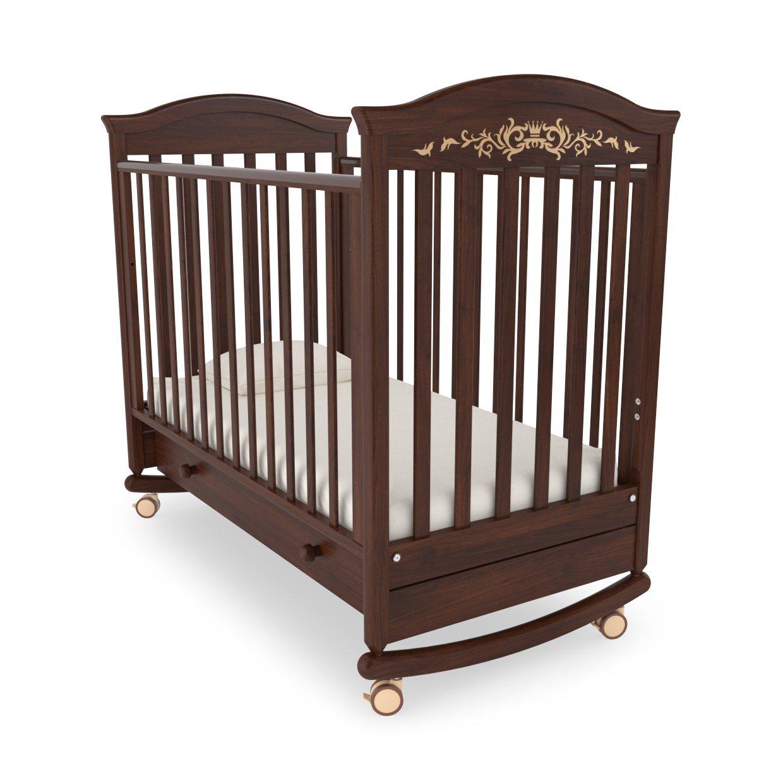 Кровать детская Гандылян Даниэль  Люкс (орех)