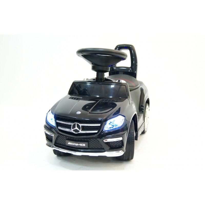 Каталка RiverToys Mercedes-Benz A888AA со звуковыми эффектами черная