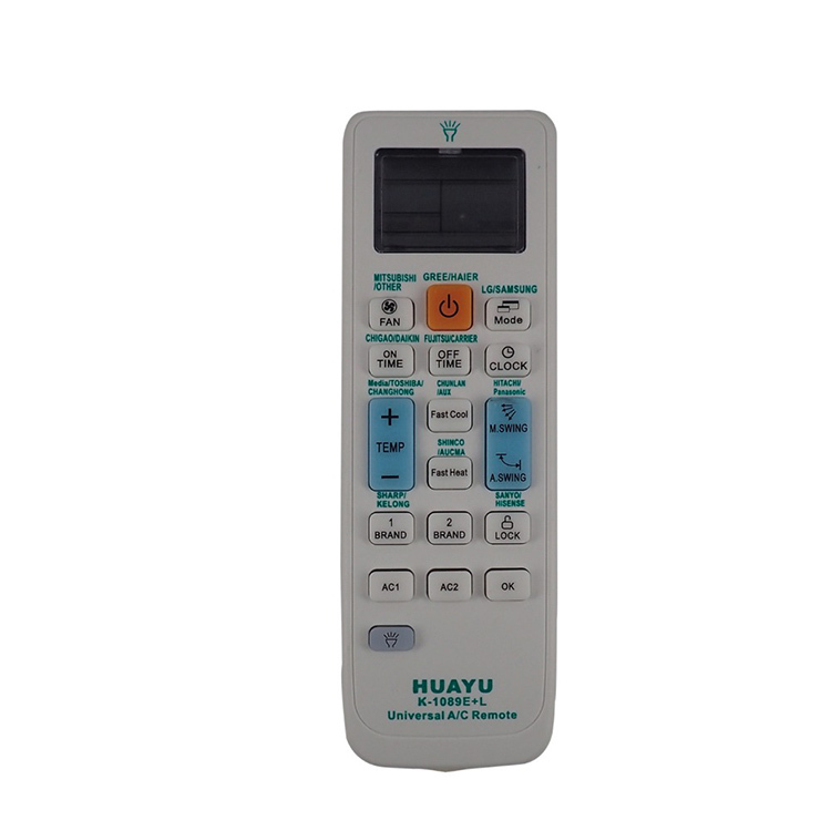 Пульт универсальный Huayu K-1089E+L для кондиционеров
