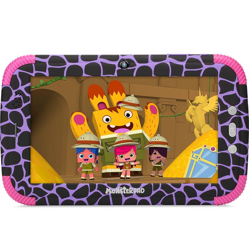 """детский планшет turbokids monsterpad 2 7"""", 16 gb, черный, розовый"""