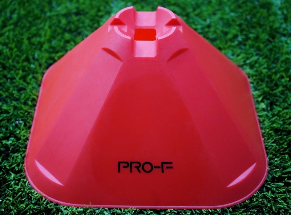 """Конусы тренировочные большие """"PRO Training Cones Red"""" PRO-F"""