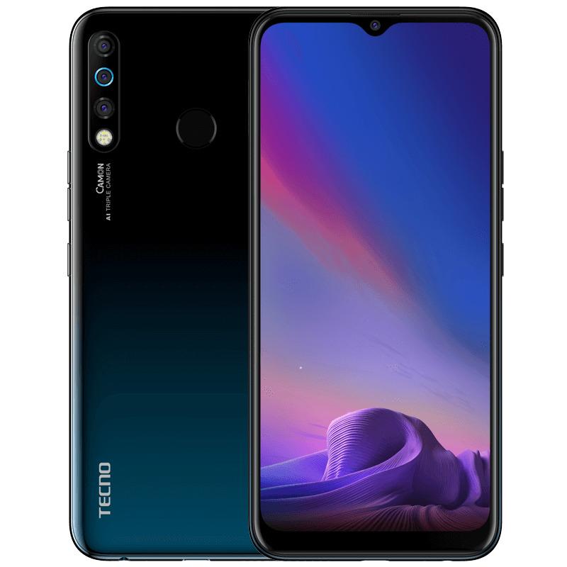 Смартфон Tecno Camon 12 4/64GB, черный