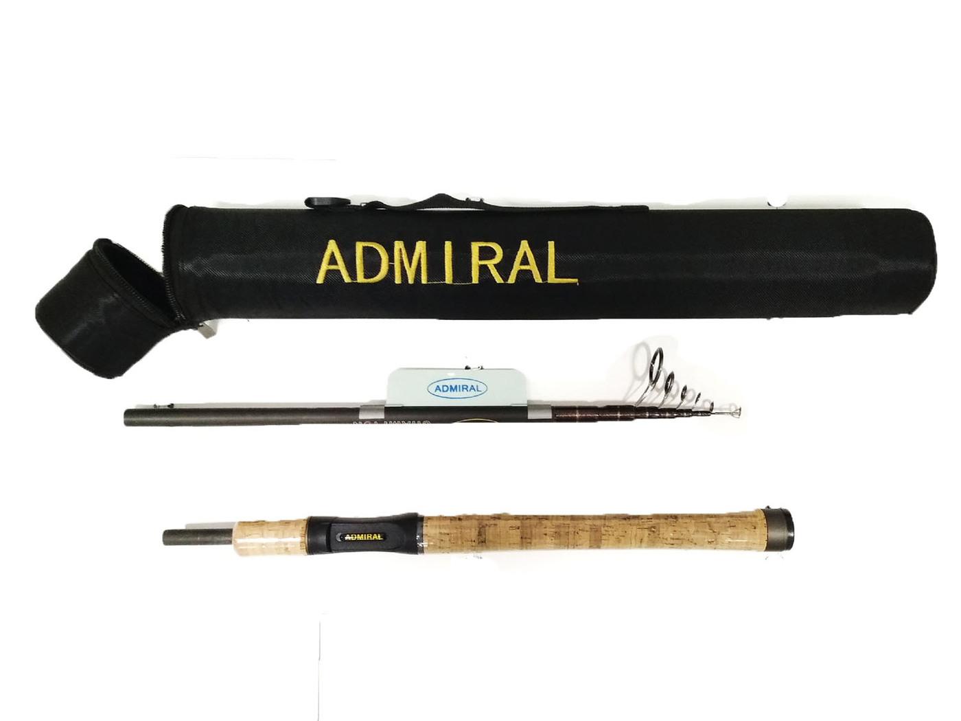 Спиннинг в тубусе ADMIRAL 210см тест 10-30