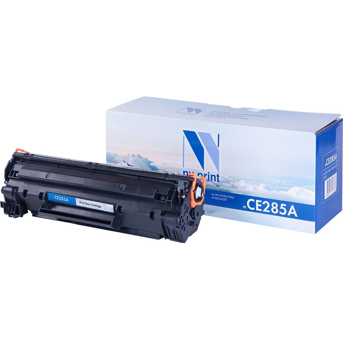 Тонер-картридж NV Print NV-CE285A, черный, для лазерного принтера, совместимый