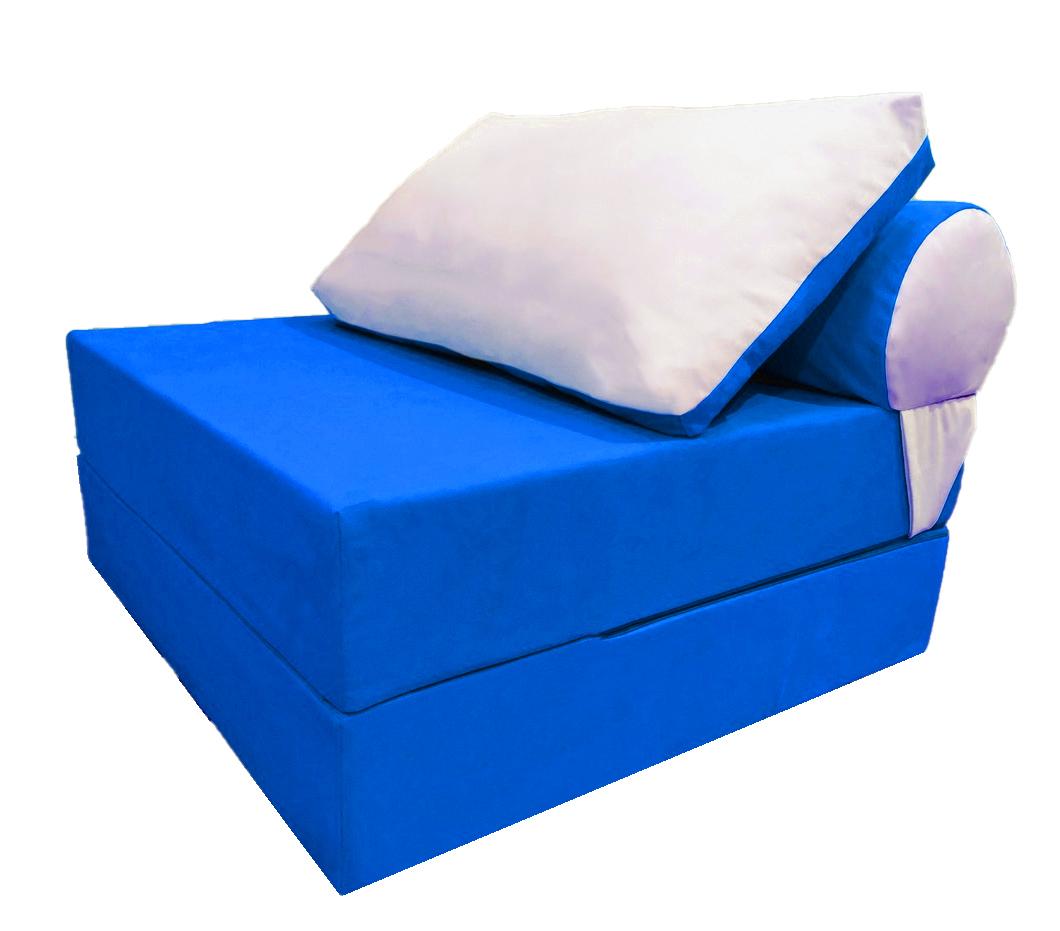 Диван кровать Clubo синий Puffmebel
