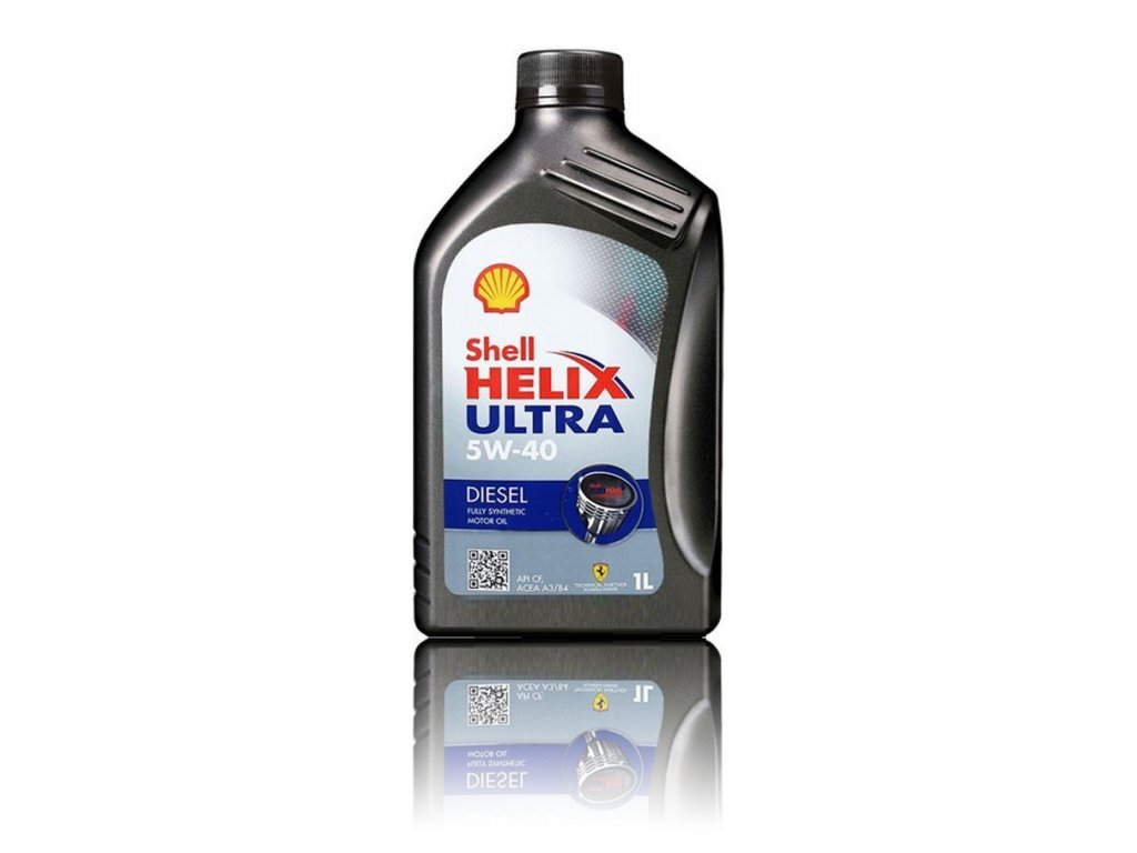 Shell Моторное Масло Helix Diesel Ultra 5w-40 1l