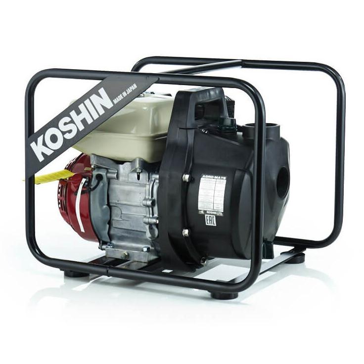 Бензиновая мотопомпа Koshin PGH-50 (полимер) для агрессивных жидкостей