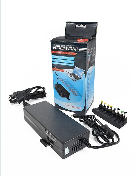 Универсальный блок питания для ноутбуков и нетбуков ROBITON NB120W (6000 мA)