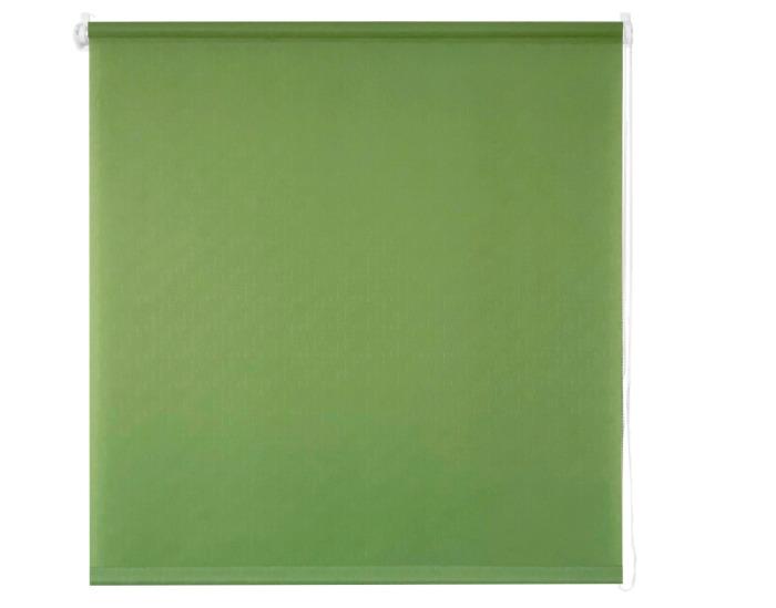 Штора рулонная, 50х160 см, цвет зелёный-20703