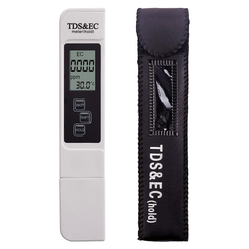 TDS метр (солемер, анализатор качества воды) в кожаном футляре