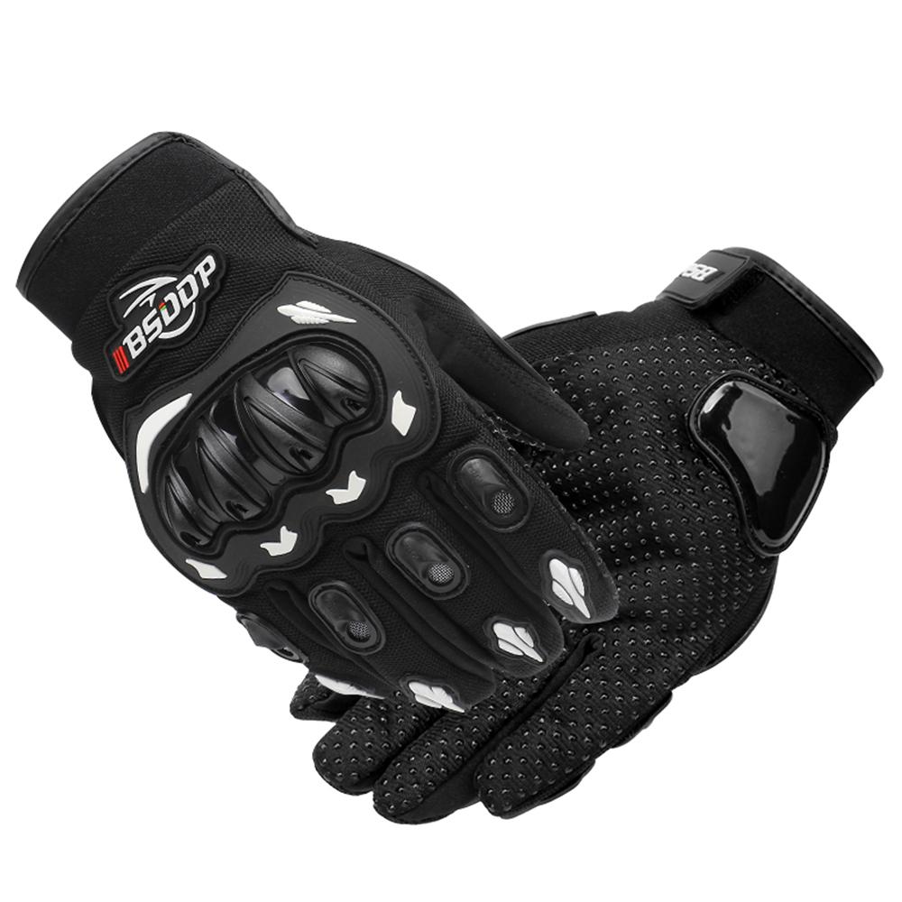 Мужские мотоциклетные перчатки с сенсорным экраном Full Finger Мотоцикл Racing