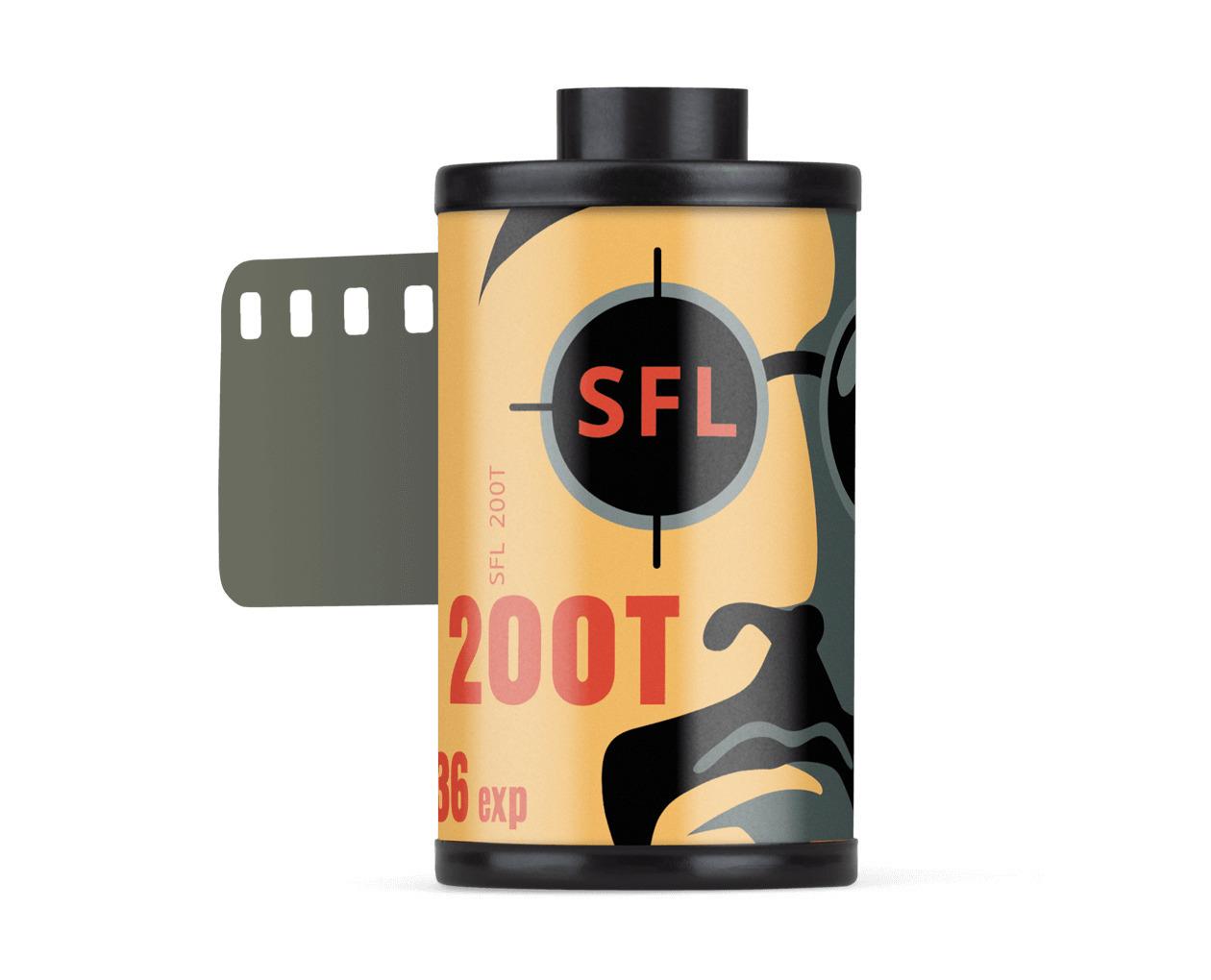 фотопленка sfl kodak 200t (135/36) цветная негативная в кассете