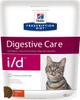 Сухой диетический корм для кошек Hill's Prescription Diet i/d Digestive Care при расстройствах пищеварения, жкт, с курицей 400 г - изображение
