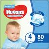 Huggies Подгузники для мальчиков Ultra Comfort 8-14 кг (размер 4) 80 шт - изображение