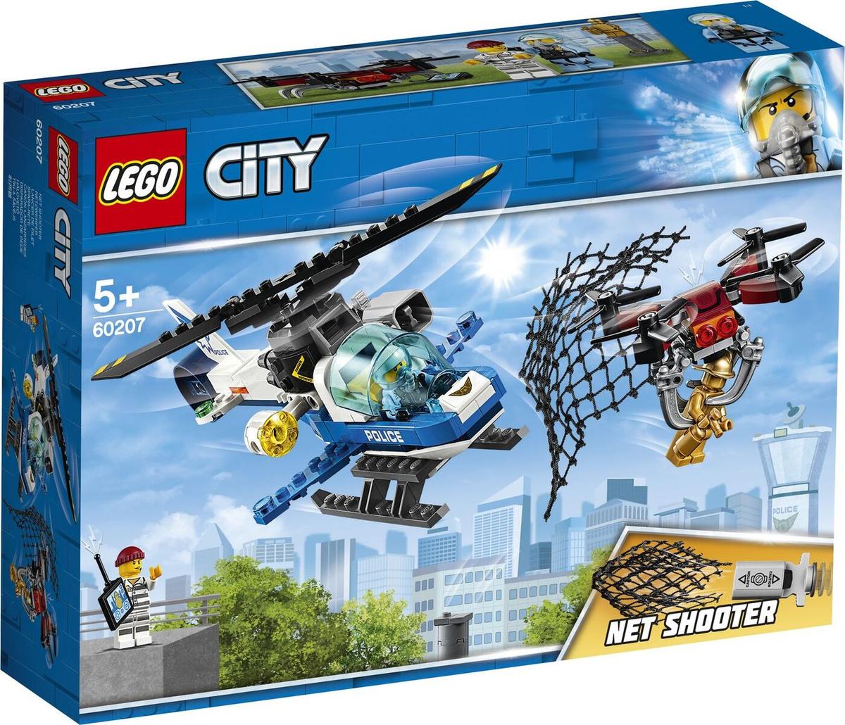 Конструктор LEGO City Police 60207 Воздушная полиция: погоня дронов  #1