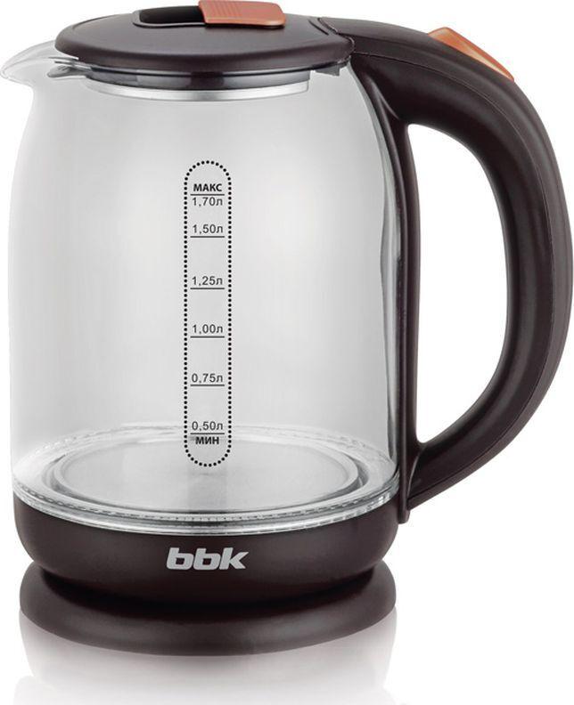Электрический чайник BBK EK1727G, коричневый #1