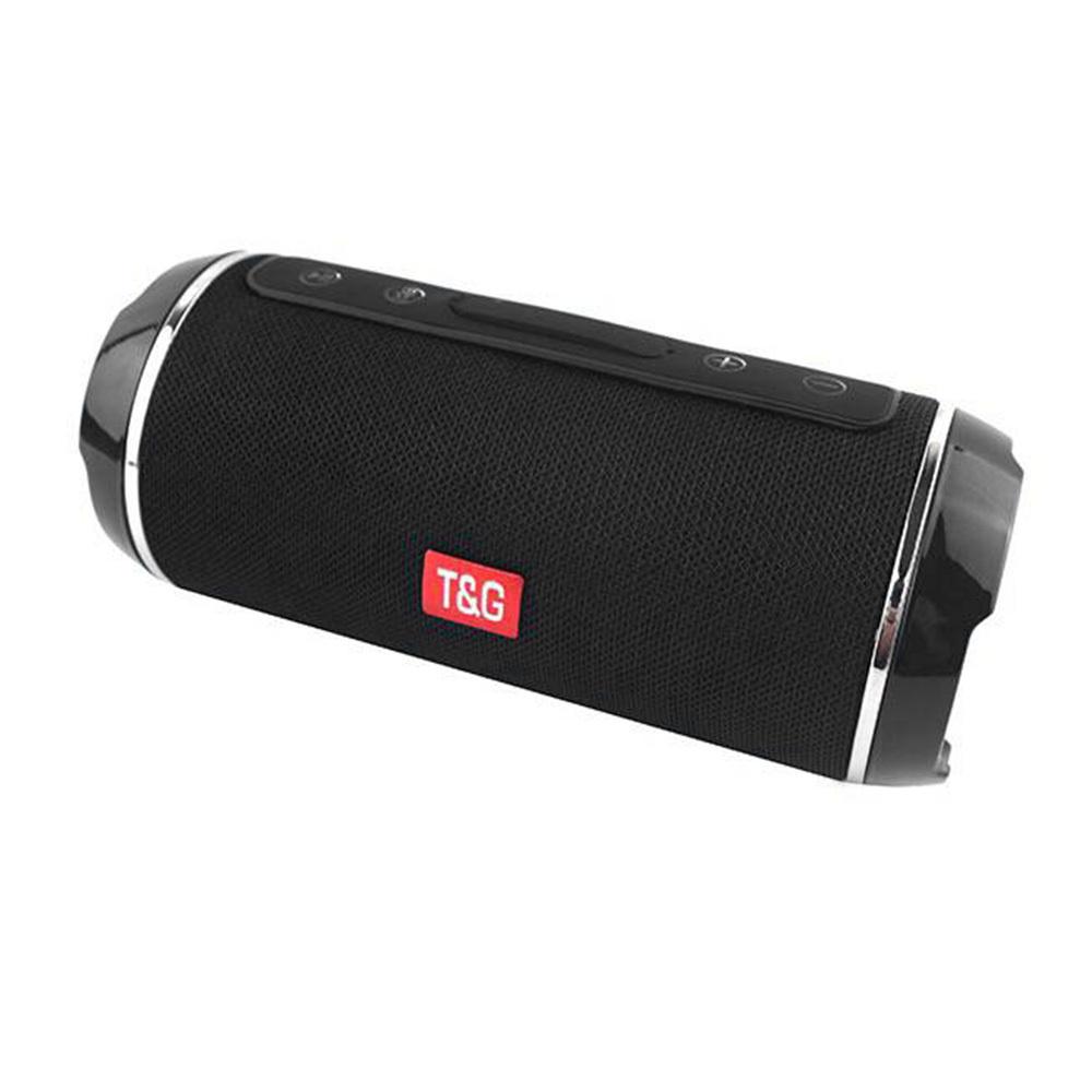 Беспроводная Bluetooth колонка T&G TG-116 (FM, SD, USB, AUX, MIC), черная #1