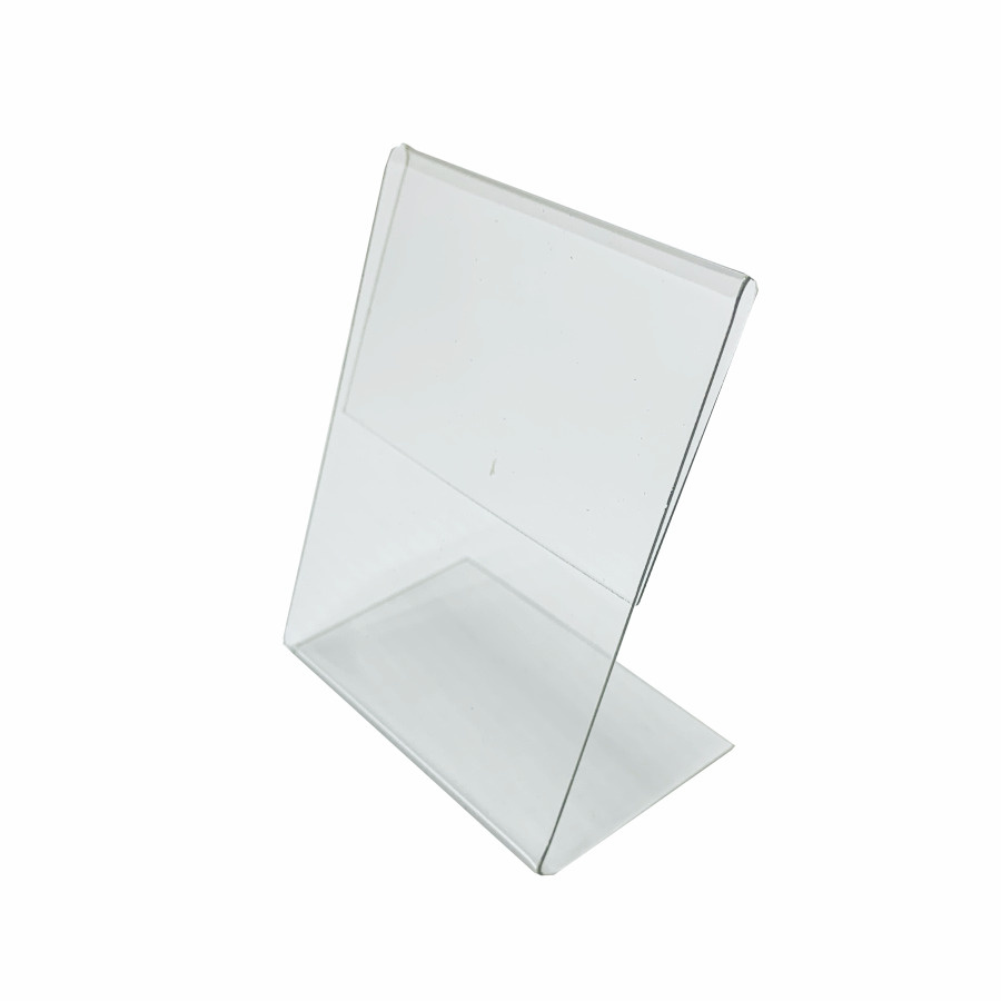 Ценникодержатель  L-образный 40x60мм вертикальный 50шт #1
