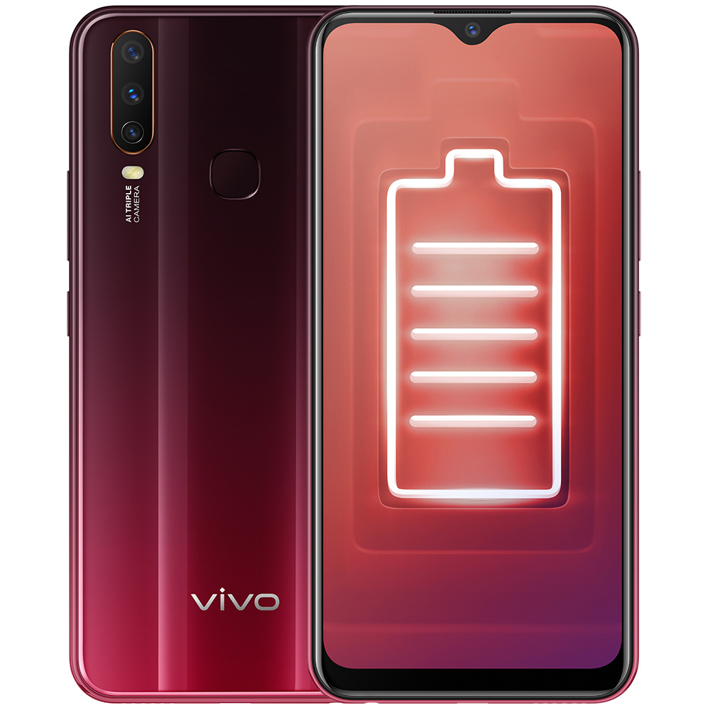 Смартфон Vivo Y11 3/32GB, красный #1